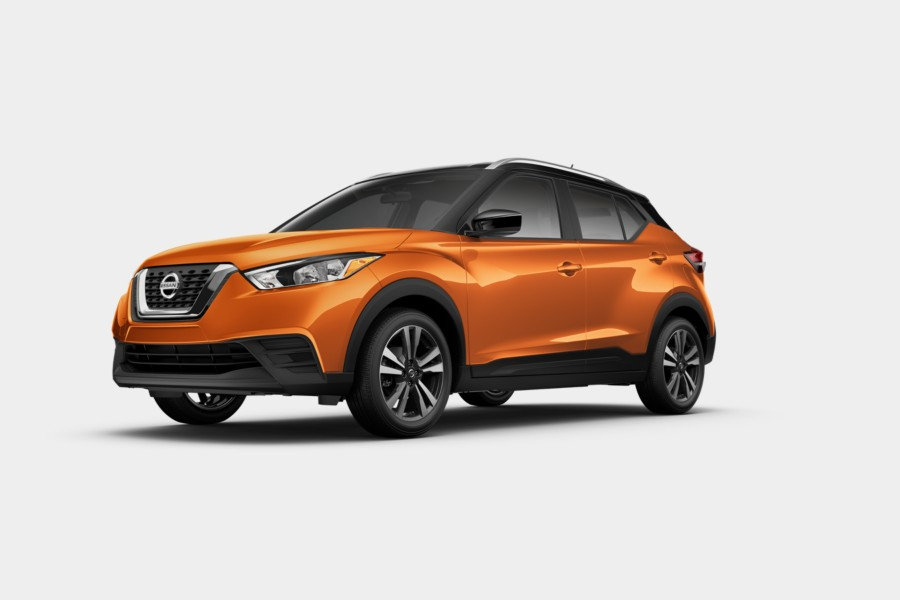 2019 Nissan Kicks Monarch Orange Metallic Super Black