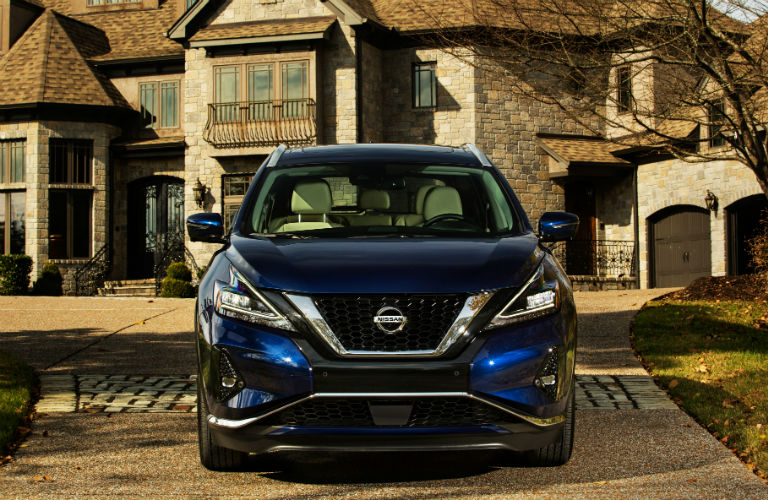 2019 Nissan Murano front fascia and grille