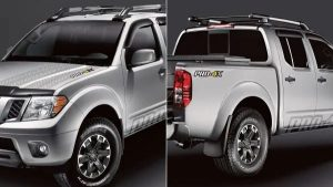 2019 Nissan Frontier accessory - Pro-4X graphics package