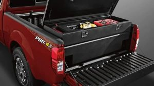 2019 Nissan Frontier accessory - sliding tool box