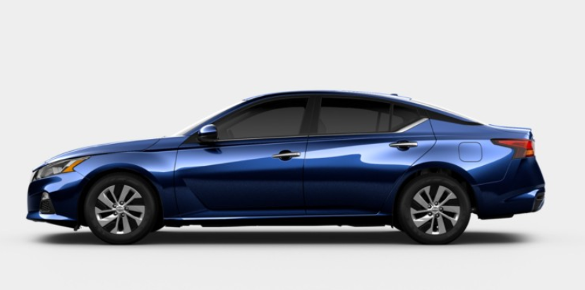 Interior And Exterior Color Options For The 2020 Nissan Altima