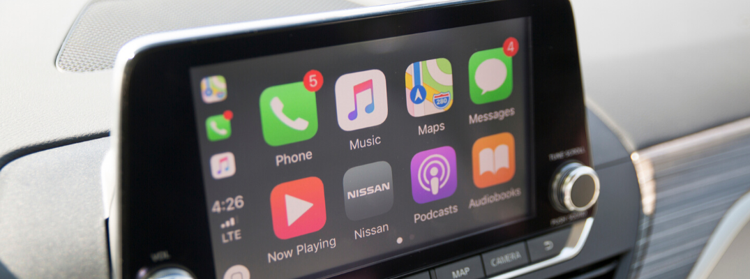 2019 Nissan Altima Edition ONE touchscreen with Apple CarPlay®