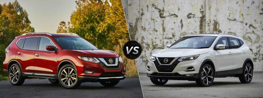 What Are the Differences Between the Nissan Rogue and the Nissan Rogue Sport?