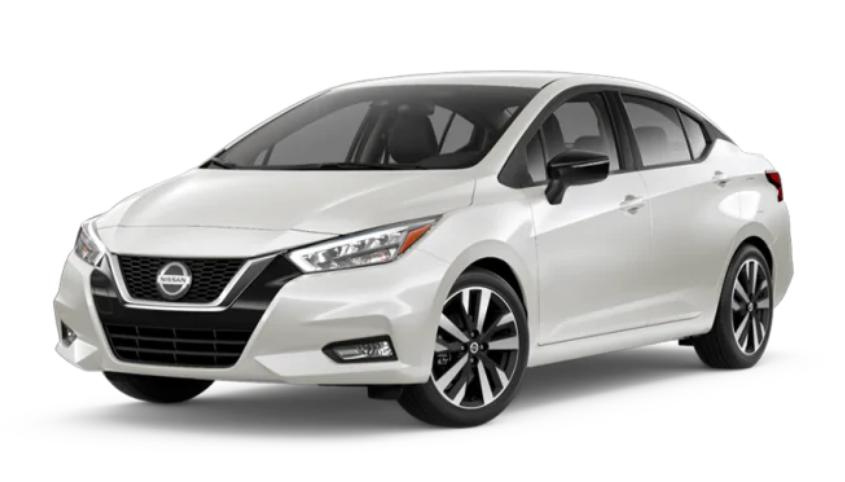 2020 Nissan Versa in Aspen White TriCoat