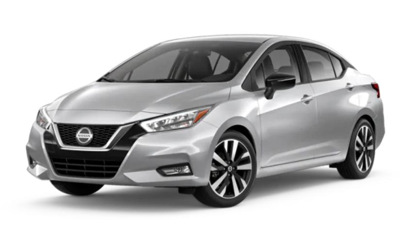 2020 Nissan Versa in Brilliant Silver Metallic
