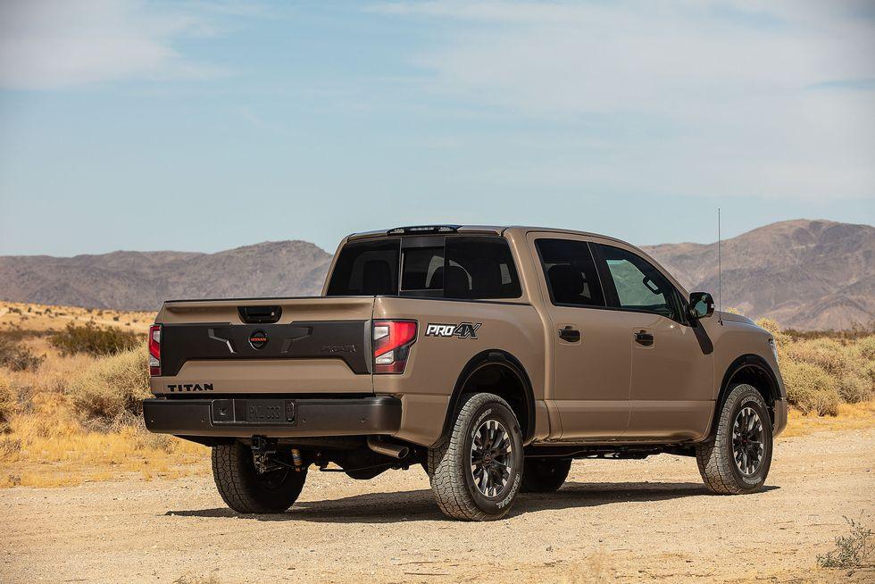 2020 Nissan Titan Pro-4X exterior styling