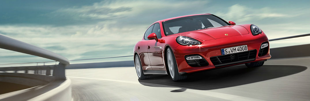 How does the Porsche Panamera handle on sharp corners?