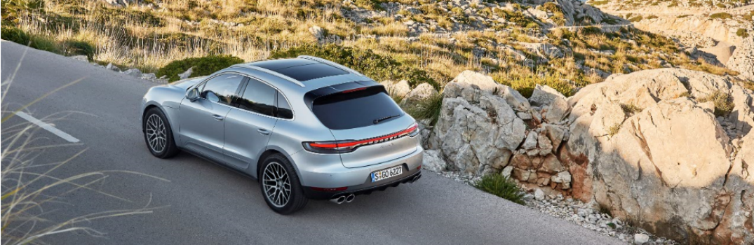 2019 porsche macan s on the road