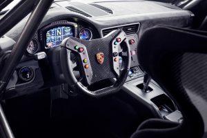 interior of the Porsche 935
