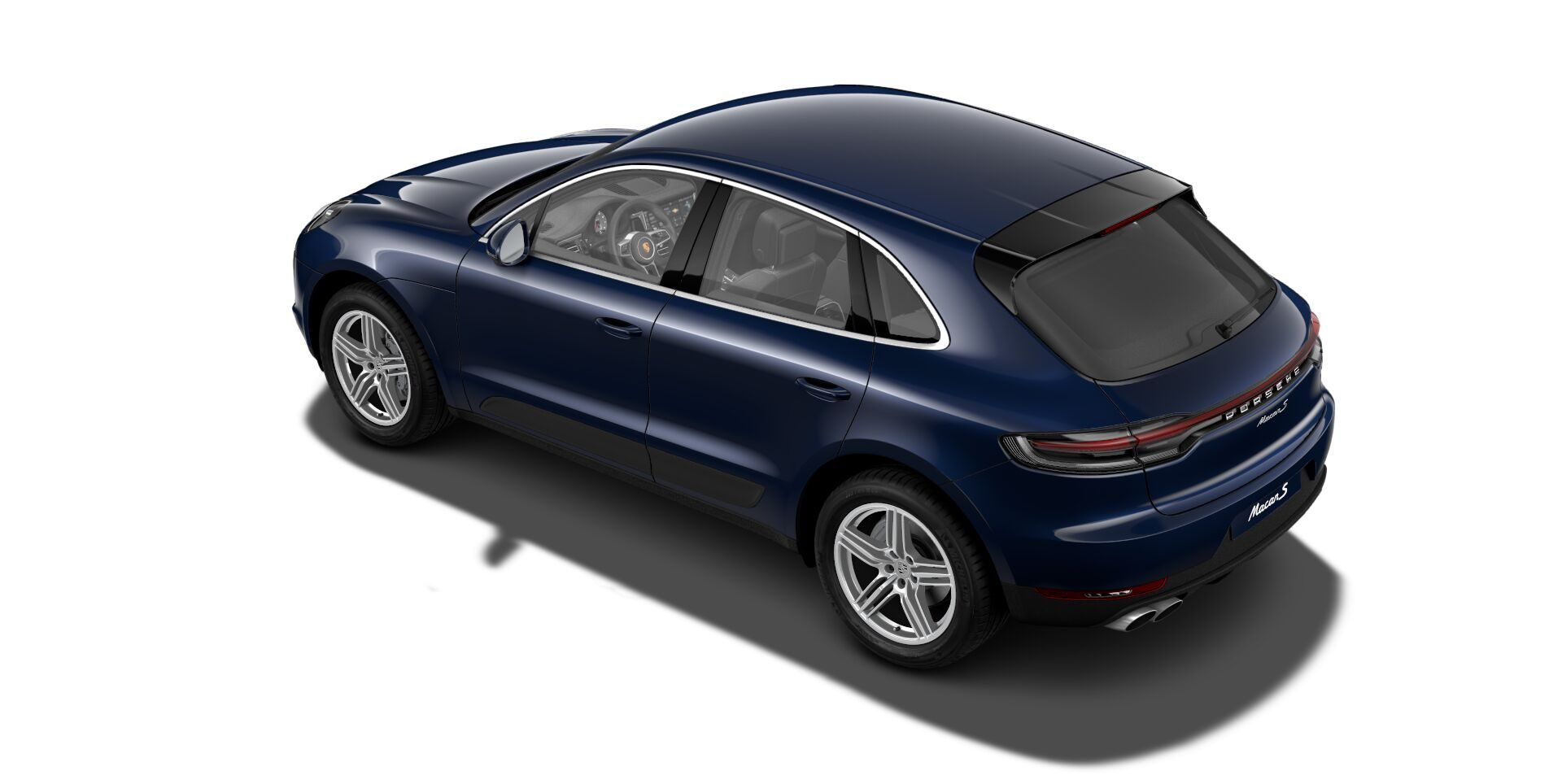 2019 Porsche Macan S Night Blue Metallic