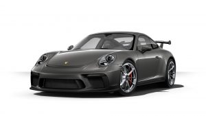 2019 Porsche 911 GT3 in agate grey metallic