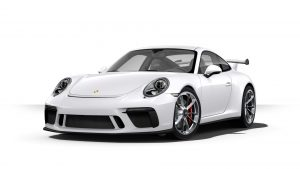 2019 Porsche 911 GT3 in carrera white metallic