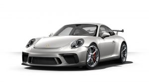 2019 Porsche 911 GT3 in GT silver metallic