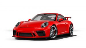 2019 Porsche 911 GT3 in guards red