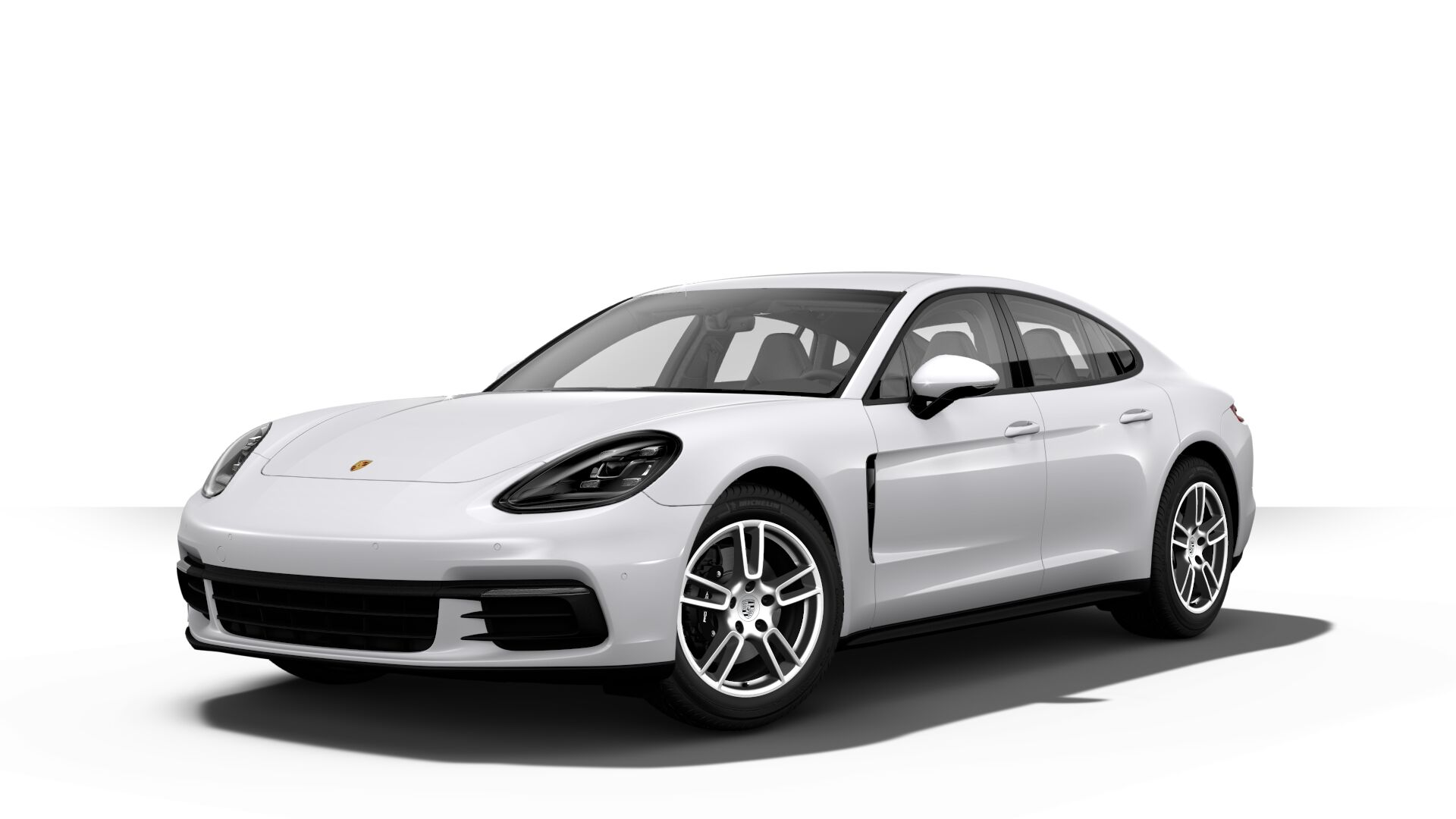 2019 Porsche Panamera in carrera white