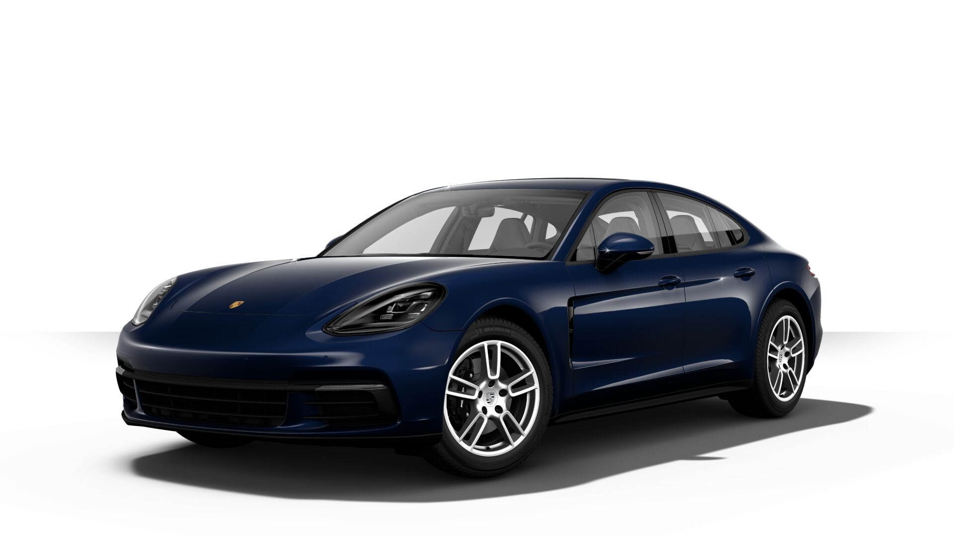 2019 Porsche Panamera in night blue