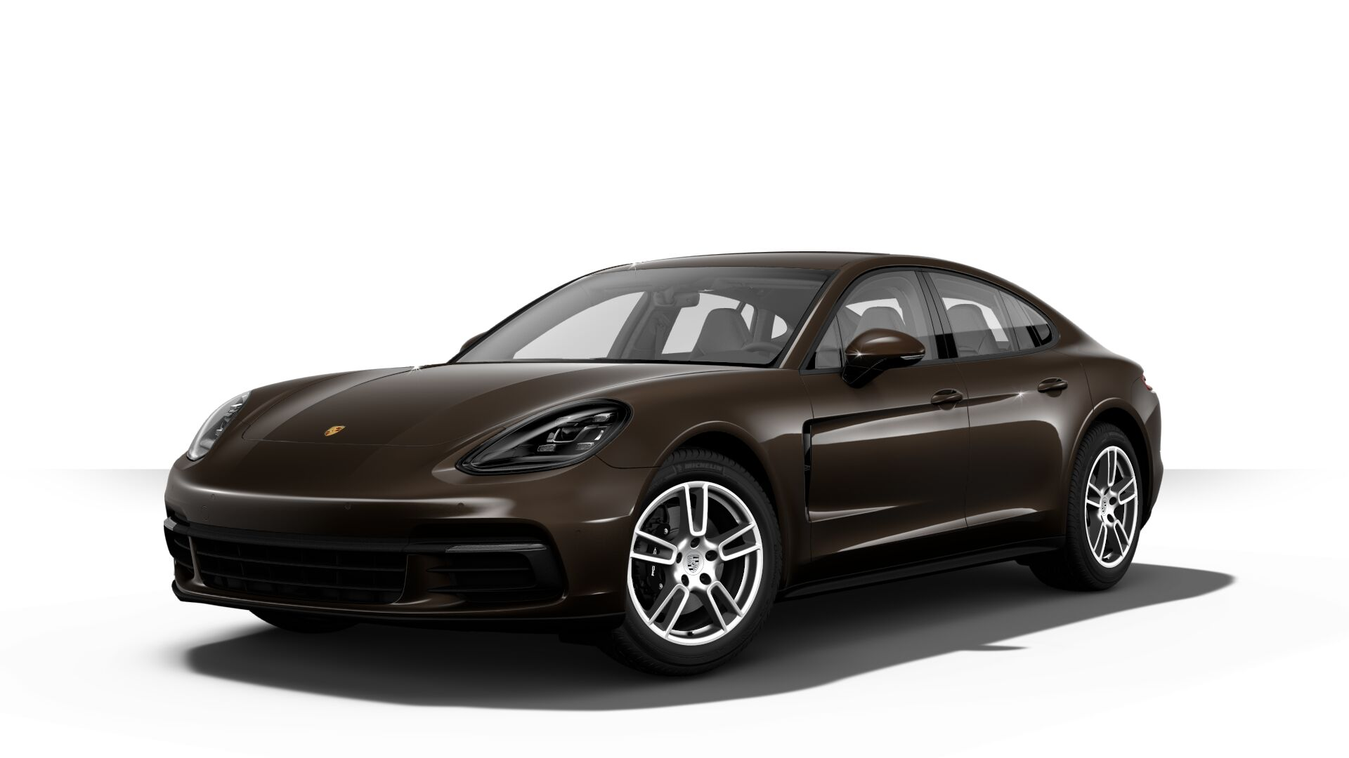 2019 Porsche Panamera in ristretto brown