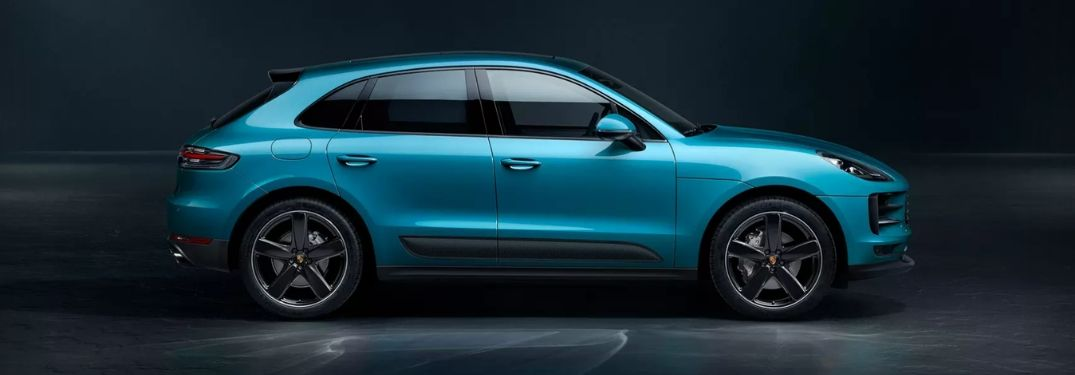 2019 Porsche Macan S in blue