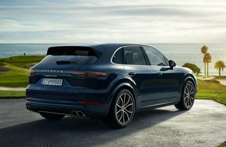 2019 Porsche Cayenne by scenic overlook