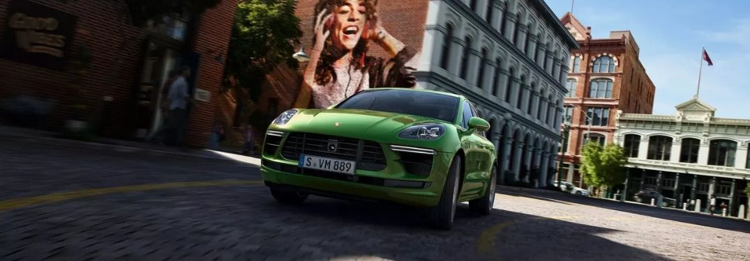 2020 Porsche Macan Turbo on city street