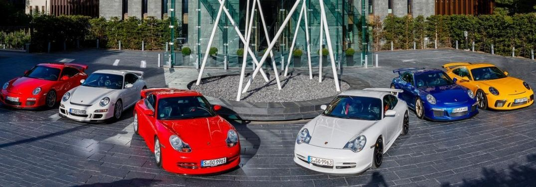 View 20 Years of Porsche GT3 History