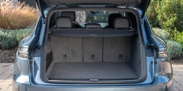 2020 Porsche Cayenne Rear Cargo Space