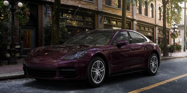 2020 Porsche Panamera in Amethyst Metallic