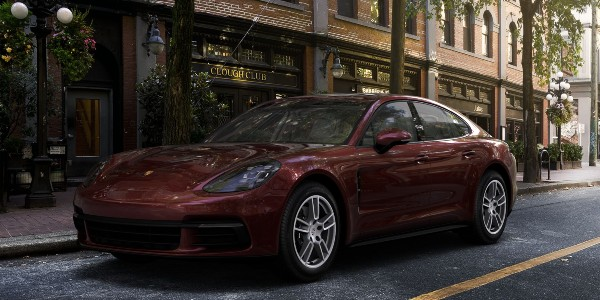 2020 Porsche Panamera in Burgundy Red Metallic
