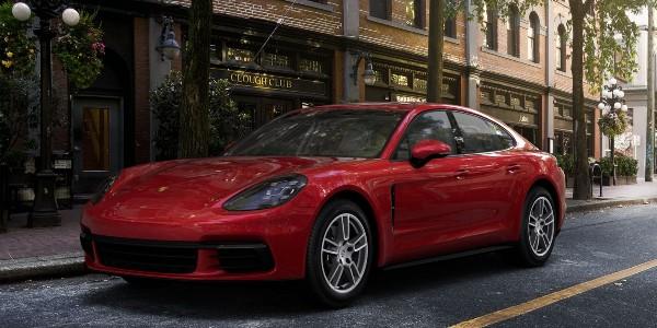 2020 Porsche Panamera in Carmine Red
