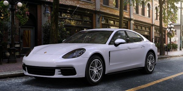 2020 Porsche Panamera in Carrara White Metallic