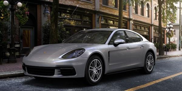 2020 Porsche Panamera in Dolomite Silver Metallic