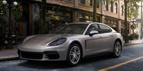 2020 Porsche Panamera in GT Silver Metallic