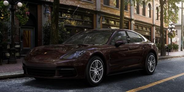 2020 Porsche Panamera in Mahogany Metallic