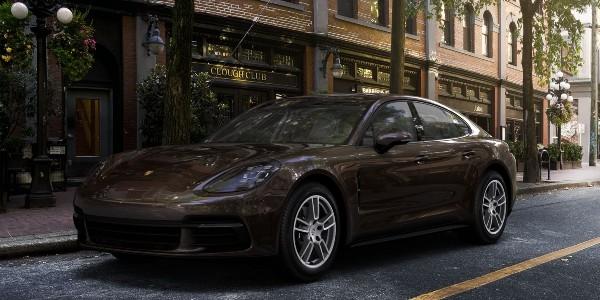 2020 Porsche Panamera in Ristretto Brown Metallic