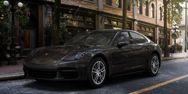 2020 Porsche Panamera in Volcano Grey Metallic