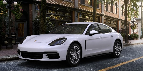 2020 Porsche Panamera in White