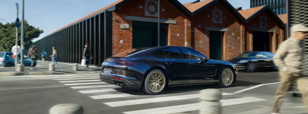 New Porsche Panamera Showcases Power and Performance in Germany