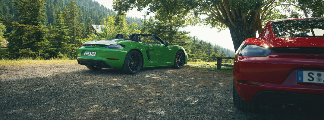 Porsche Adds Six-Cylinder 718 Boxster GTS 4.0 and 718 Cayman GTS 4.0 to Lineup