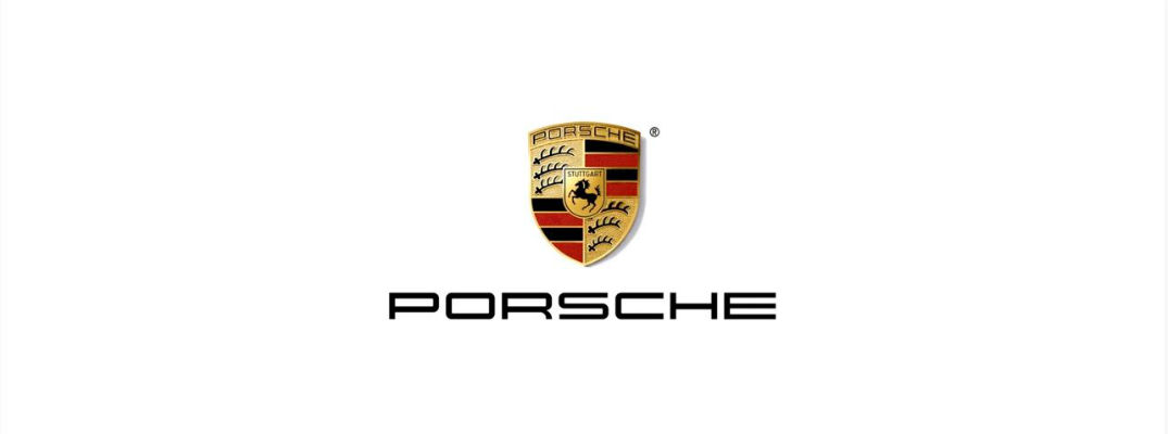 Screenshot image of Porsche logo from brand's YouTube video