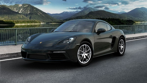 2020 Porsche 718 Cayman in Black