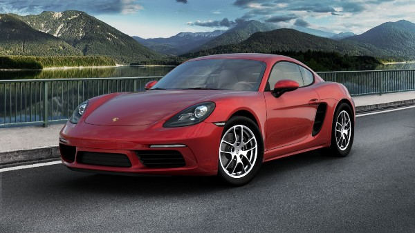 2020 Porsche 718 Cayman in Carmine Red