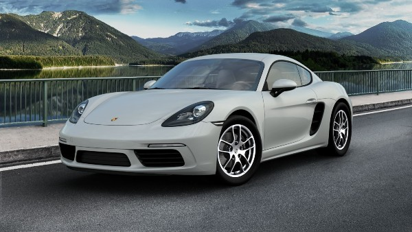 2020 Porsche 718 Cayman in Chalk