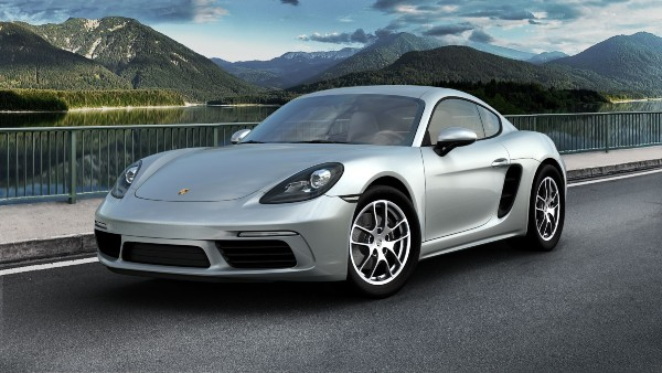 2020 Porsche 718 Cayman in Dolomite Silver Metallic