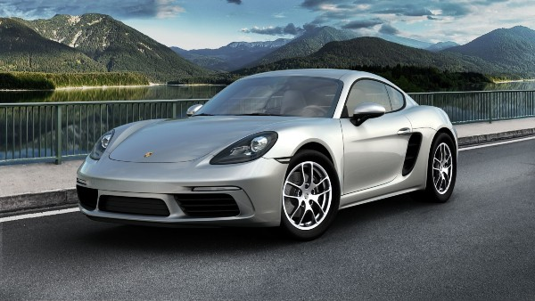 2020 Porsche 718 Cayman in GT Silver Metallic