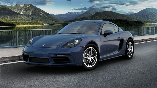 2020 Porsche 718 Cayman in Gentian Blue Metallic