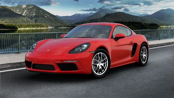 2020 Porsche 718 Cayman in Guards Red