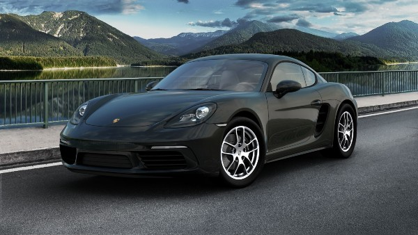 2020 Porsche 718 Cayman in Jet Black Metallic