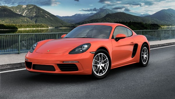 2020 Porsche 718 Cayman in Lava Orange