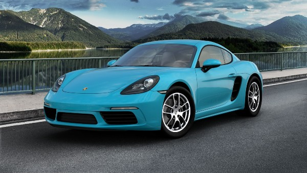 2020 Porsche 718 Cayman in Miami Blue