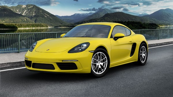 2020 Porsche 718 Cayman in Racing Yellow